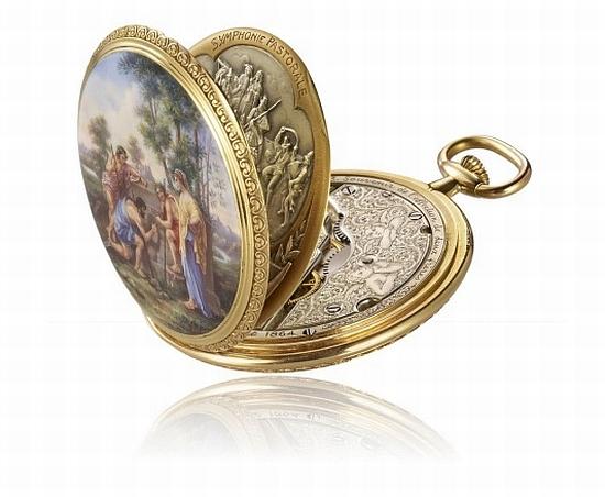 676faab24a1 Relógio de bolso da Vacheron Constantin esconde uma história ...
